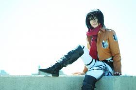 Mikasa Ackerman from Attack on Titan  by daikony