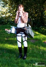 Sasha Braus from Attack on Titan  by Azure Marill