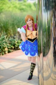 Anna from Frozen  by Jenni Bon