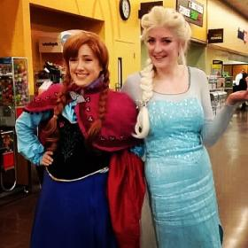 Anna from Frozen  by BebeDollCosplay