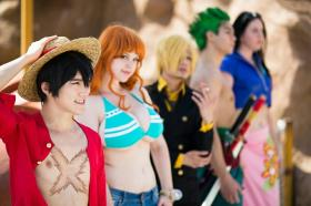 Monkey D. Luffy from One Piece  by Grey San