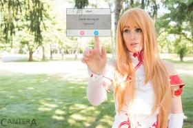 Asuna from Sword Art Online  by Micro Kitty
