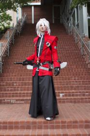 Ragna the Bloodedge from BlazBlue: Calamity Trigger  by OnlyMostlyDead