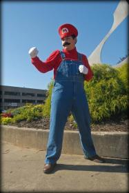 Mario from Super Mario Brothers Series  by BlackStarLee