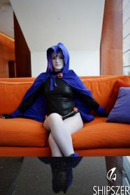 Raven from Teen Titans  by Shipszer