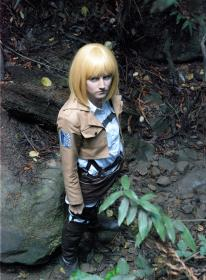 Armin Arlelt from Attack on Titan  by hoshiko2