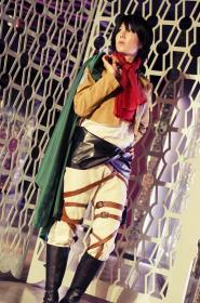 Mikasa Ackerman from Attack on Titan  by Haku Kaen