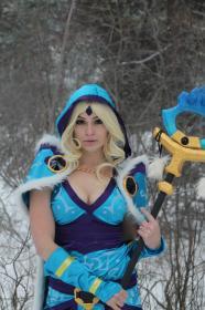 Crystal Maiden from Dota 2  by Anna Lynn