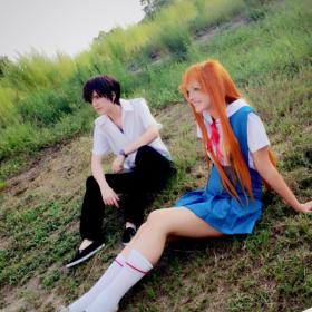 Asuka Shikinami from Evangelion 2.22 by blairxblitz