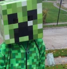 Creeper from Minecraft  by Spindaboy
