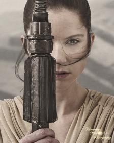 Rey from Star Wars Episode 7: The Force Awakens  by Whitney Wickham