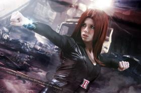 Black Widow - Natalia Romanova from Avengers, The  by Florencia Sofen