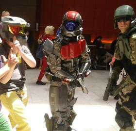 ODST Trooper from Halo 3: ODST  by Van Buren