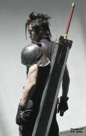 Zack Fair from Final Fantasy VII: Crisis Core  by Pomjo