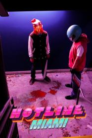 Biker from Hotline Miami  by SkyHigh