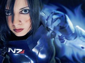 Commander Shepard from Mass Effect  by Iserith