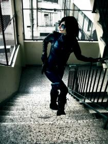 Domino from X-Force  by Iserith
