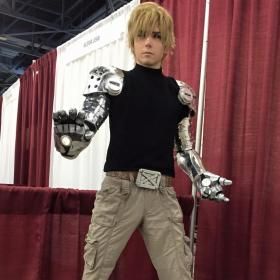 Genos from One Punch Man  by Moderately Okay Cosplay