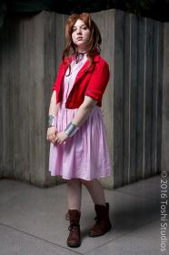 Aeris / Aerith Gainsborough from Final Fantasy VII  by Rina Love