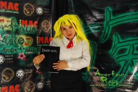 Amane Misa from Death Note worn by Jessie de Hwoarang