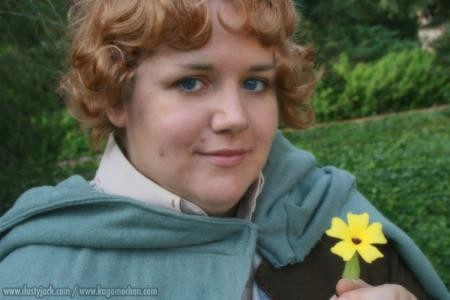Samwise Gamgee from Lord of the Rings worn by Kagome-chan
