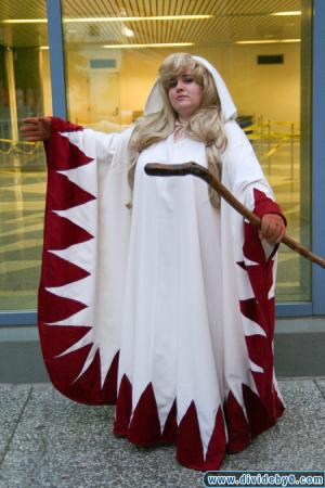 White Mage from Final Fantasy Tactics worn by Kagome-chan