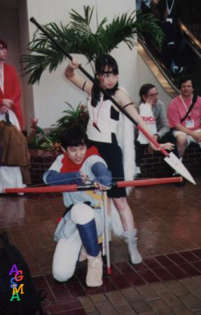Ashitaka from Princess Mononoke worn by waynekaa
