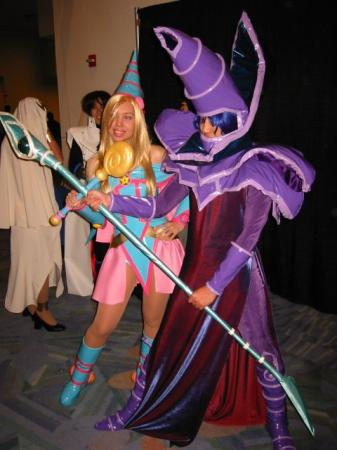 Dark Magician from Yu-Gi-Oh! Duel Monsters worn by waynekaa
