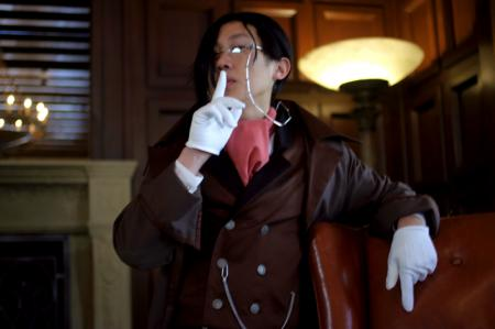 Sebastian Michaelis from Black Butler (Worn by waynekaa)
