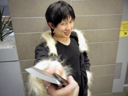 Izaya Orihara from Durarara!! (Worn by waynekaa)