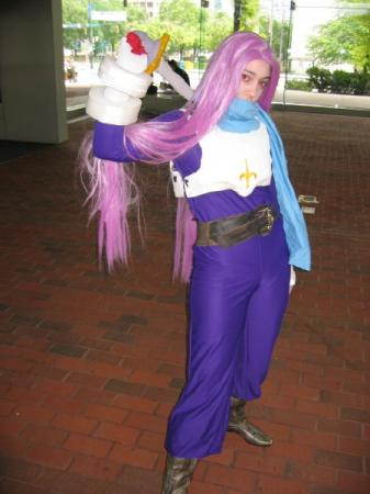 Teepo from Breath of Fire 3 worn by Ender Kou