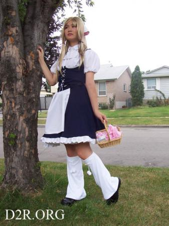 Chi / Chii / Elda from Chobits worn by Lainey