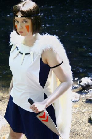San from Princess Mononoke worn by Kairi G