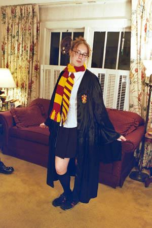 Gryffindor Student from Harry Potter worn by Kairi G