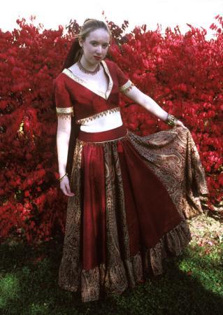 Indian Bride/Dancer from Original:  Historical / Renaissance worn by Kairi G