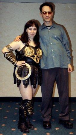 Xena from Xena: Warrior Princess worn by F??nicia