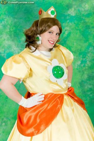 Princess Daisy from Super Mario Brothers Series worn by Katasha