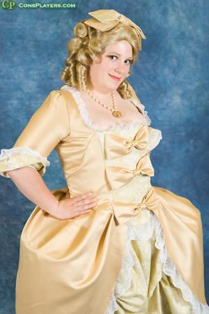 Marie Antoinette from Rose of Versailles worn by Katasha