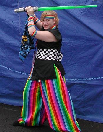 Rainbow worrier from Original Design worn by Katasha