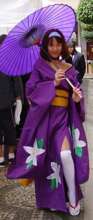 Sumire Kanzaki from Sakura Wars worn by Ruby Meliamme
