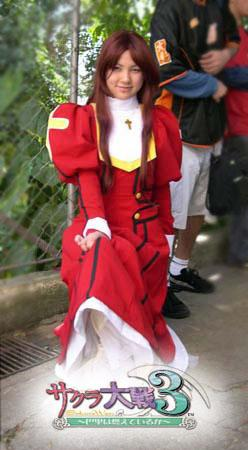 Erica Fontaine from Sakura Wars 3 worn by Ruby Meliamme