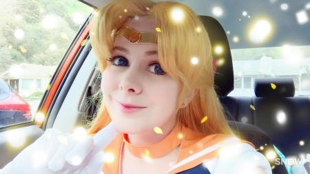 Sailor Venus from Sailor Moon by Hanyaan