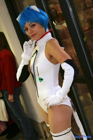 Rei Ayanami from Neon Genesis Evangelion worn by Ayanami Lisa