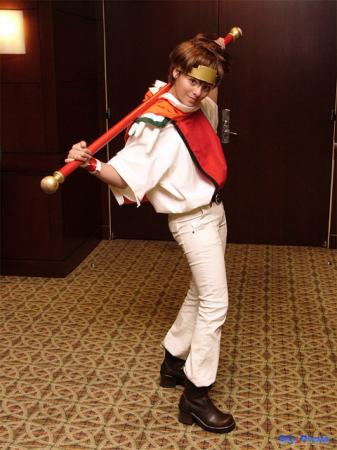 Son Goku from Saiyuki worn by Ayanami Lisa