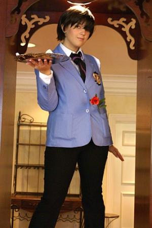Haruhi Fujioka from Ouran High School Host Club worn by Yuffie Leonheart