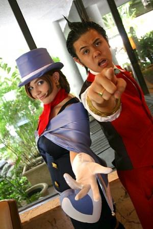 Trucy Wright from Apollo Justice: Ace Attorney worn by Yuffie Leonheart