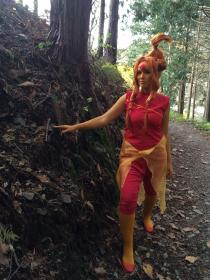 Flame Princess from Adventure Time with Finn and Jake worn by digisake