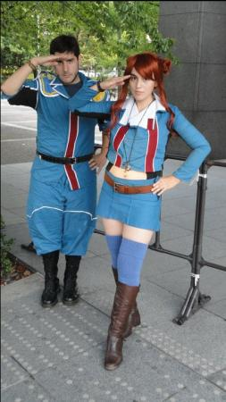 Rosie Stark from Valkyria Chronicles worn by digisake