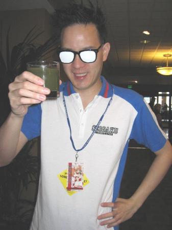Sadaharu Inui from Prince of Tennis worn by Eurobeat King