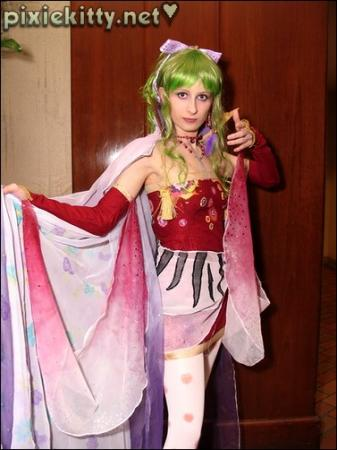 Terra Branford from Final Fantasy VI worn by Pixie Kitty